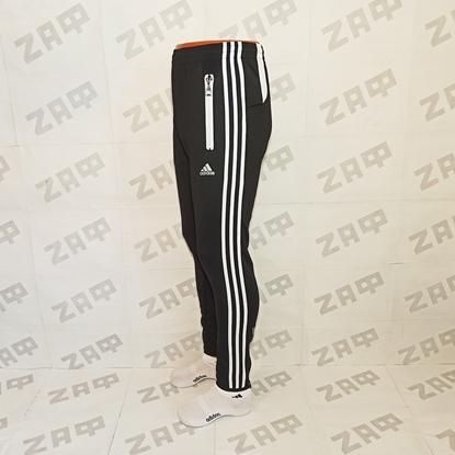 Мужские штаны Adidas LG PRNTD, чёрные (реплика)