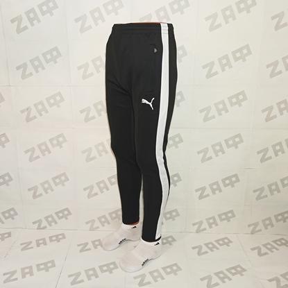 Мужские штаны PUMA EMBR SGN, чёрные (реплика)