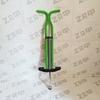 Тренажёр-кузнечик Pogo Stick до 50 кг, зелёный
