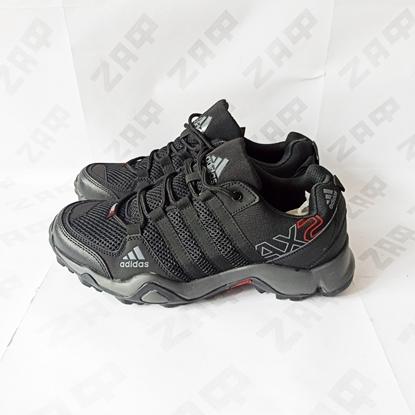 Мужские кроссовки Adidas Terrex Outdoor AX2, чёрный/тёмно-серый/красный
