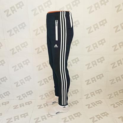 Мужские штаны Adidas LG PRNTD, тёмно-синие (реплика)