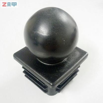 Заглушка 60*60 мм С ШАРОМ, внутренняя (жаберная)