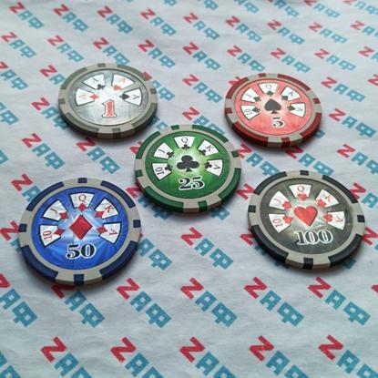 Покерные фишки GML, 11.5 грамм