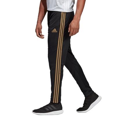 Мужские спортивные штаны Adidas Tiro 19 Training Pants, Black / Reflective Gold