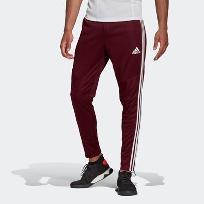 Мужские спортивные штаны Adidas Tiro 19 Training Pants, Maroon / White