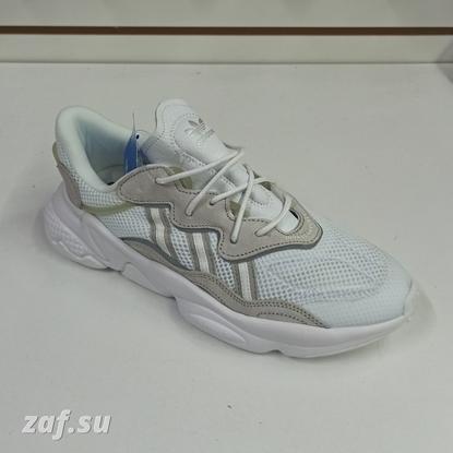 Мужские кроссовки Adidas Ozweego LX White & Beige, белый/бежевый