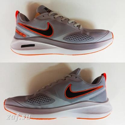 Мужские кроссовки NIKE Guide10 Zoom Air Grey & Orange & White, серый/оранжевый/белый