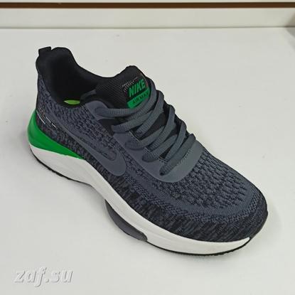 Мужские кроссовки NIKE Zoom Air Max Dark Grey & Green, тёмно-серый/зелёный