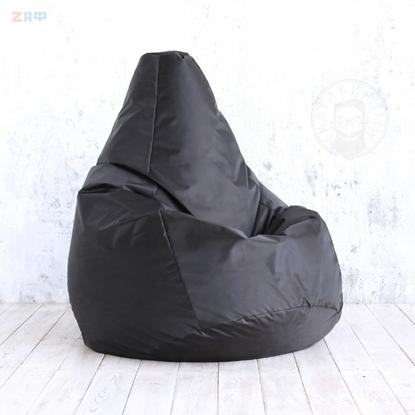 Кресло-мешок STANDARD Black, 130*95 см, чёрный