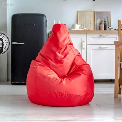 Picture of Кресло-мешок STANDARD Red, 130*95 см, красный