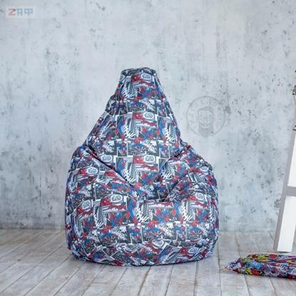 Picture of Кресло-мешок STANDARD Marvel, 130*95 см, марвел
