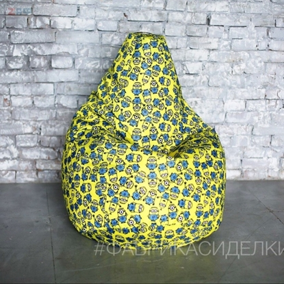 Picture of Кресло-мешок STANDARD Minions, 130*95 см, миньоны