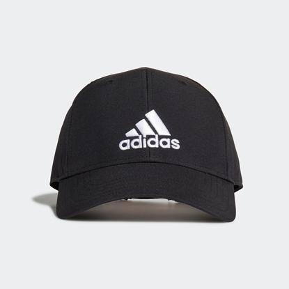 Бейсболка Adidas EMBROIDERED Black / Black / White
