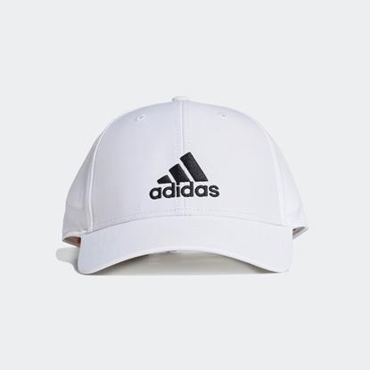 Бейсболка Adidas EMBROIDERED White / White / Black