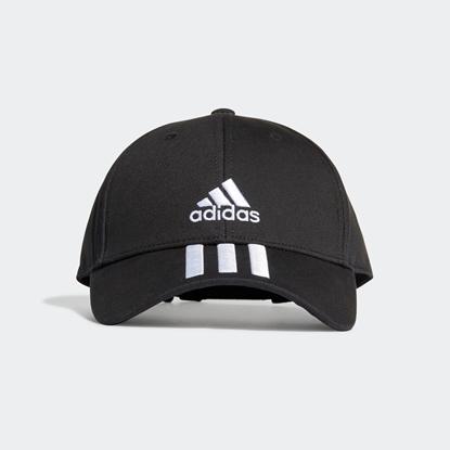 Бейсболка Adidas 3-STRIPES Black / White / White