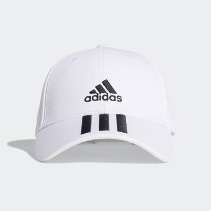 Бейсболка Adidas 3-STRIPES White / Black / Black
