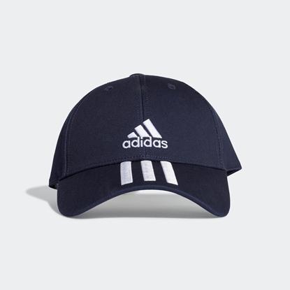 Бейсболка Adidas 3-STRIPES Legend Ink / White / White