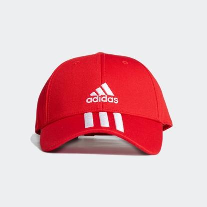 Бейсболка Adidas 3-STRIPES Vivid Red / White / White