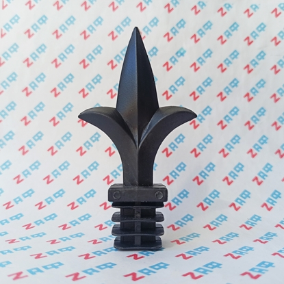 Наконечник пластиковый ПИКА, 25*25 мм, чёрный