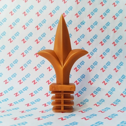 Наконечник пластиковый ПИКА, 25*25 мм, золотой