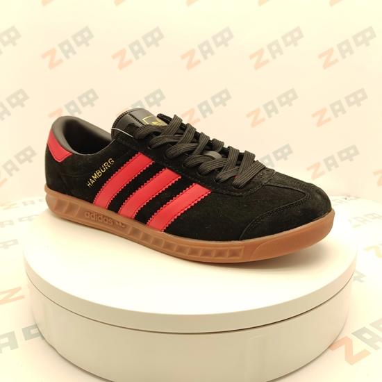 Мужские кроссовки ADIDAS Hamburg Black & Red