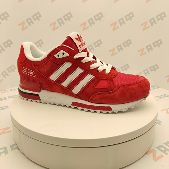 Мужские кроссовки ADIDAS ZX-750 Red & White
