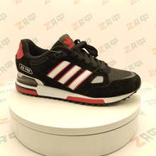 Picture of Мужские кроссовки ADIDAS ZX-750 Black & White & Red, размер 41