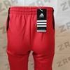 Мужские штаны Adidas LG PRNTD, красный / чёрный (реплика)