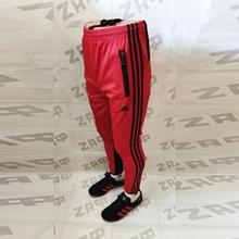 Изображение Мужские штаны Adidas LG PRNTD, красный / чёрный (реплика), размер S