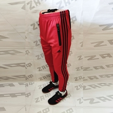 Изображение Мужские штаны Adidas LG PRNTD, красный / чёрный (реплика), размер XXL