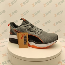 Picture of Мужские кроссовки PUMA LQDCELL Grey & White & Black & Orange, размер 41
