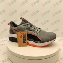 Picture of Мужские кроссовки PUMA LQDCELL Grey & White & Black & Orange, размер 45
