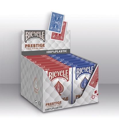 Игральные карты Bicycle Prestige 100% пластик (USPCC), пр-во США